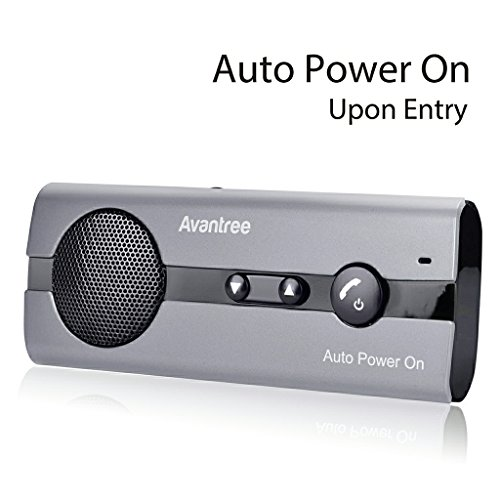Avantree 10BS AUTO POWER ON Bluetooth - Manos Libres para Coche Kit con Sensor de...