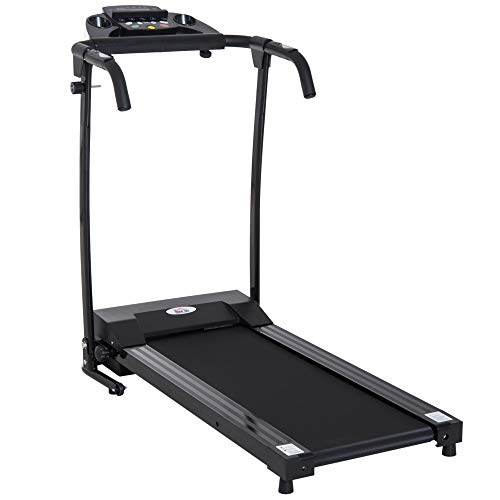 HOMCOM 1-10Km/h Folding Treadmill Machine Electric...