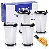 KEEPOW 4 Set Filtros para Aspiradora Ergorapido AEG CX7 CX7-2 para todos los modelos, Pack Familiar