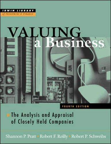 Valuing A Business, 4th Edition