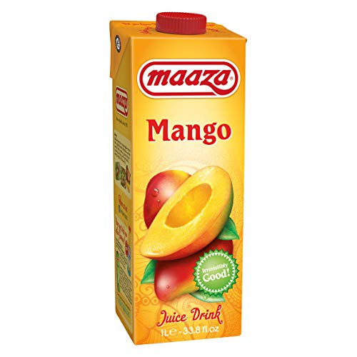 Maaza Mango Saft 6x1l Fruchtsaft aus Mangopüree