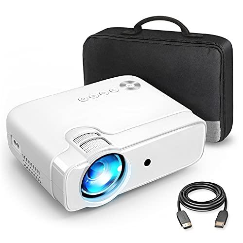 VANKYÖ Leisure 430XX Beamer, Heimkino Beamer 236' Bildschirm, Support 1080P Full HD, Projector kompatibel mit TV Stick