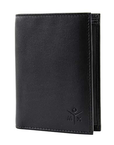 oxmox Leather Geldbörse Leder 9,5 cm