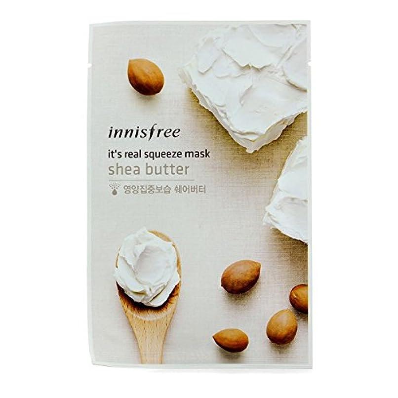 さまよう木材精算イニスフリー(Innisfree) イッツリアル スクイーズ マスク - シアバター 10pcs並行輸入品