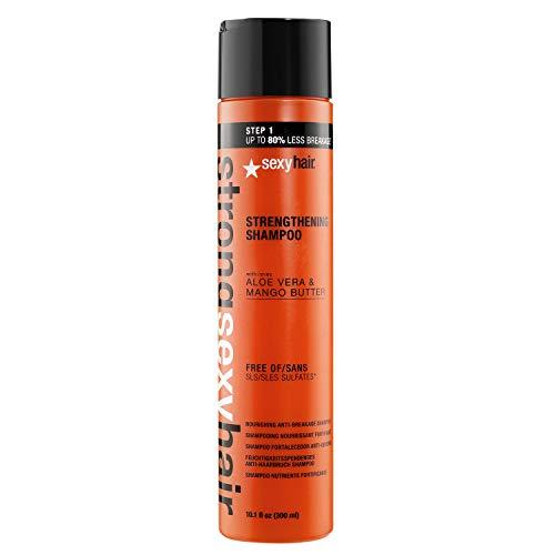 SexyHair Strong Strengthening Shampoo, Color Safe, 10.1 fl. oz.