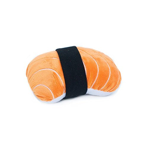 ZippyPaws - NomNomz Plush Squeaker Dog Toy for The Foodie Pup - Sushi