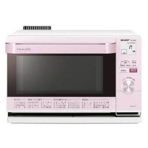 シャープ スチームオーブンレンジ 18L ピンク系SHARP ウォーターオーブン ヘルシオ コンパクト AX-CA100-P