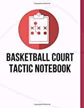 Basketball Court Tactic Notebook: Basketball Tactic Notebook, Coaching Play Book, Blank Basketball Court, Your Strategy and Tactics for Basketball  (200 Pages, 8.5 x 11)