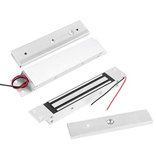 Kit de cerradura magnética eléctrica de puerta integrada DC12V 280kg para herramientas de hardware de seguridad para el hogar cerradura de puerta