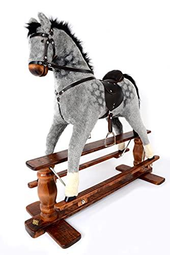 "Luxurious Very Large Rocking Horse""Saturn Dapple Grey"" from MJMARK"