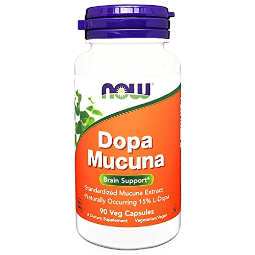 Dopa Mucuna 800mg 90 capsulas Natural Importado - Now Foods