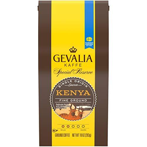GEVALIA Special Reserve Mild Roast Fine Ground Coffee Kenya 10 Ounce