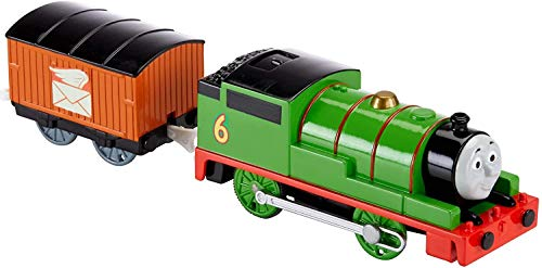 Thomas e Amigos Locomotiva Motorizada Percy - Mattel BML07