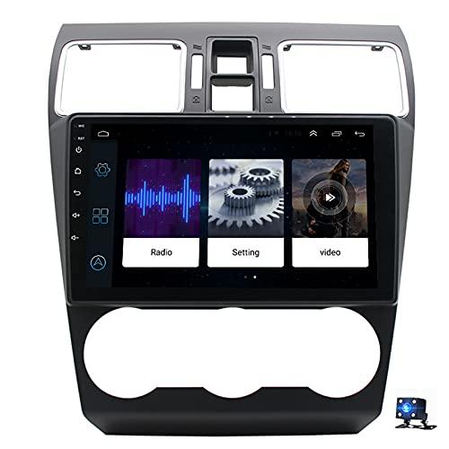 Android 10.0 Car Stereo Sat Nav Radio Reproductor de video multimedia con pantalla táctil para Subaru WRX 2012-2015 Soporte Bluetooth USB WIFI 4G GPS Mirror Link(Size:cuatro nucleos,Color:WiFi 2G+32G)