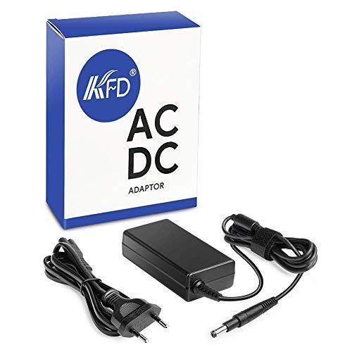 KFD 65W Adaptador Cargador Portátil para HP Pavilion 15-b000es 15-b010es 677770-003 15-B108ss Envy 4 Envy 6 15-b124ss 14-3100es, Pavilion 14 14-b198ss, Chromebook 14-b00 14-c00 15-b132es 19,5V 3,33A