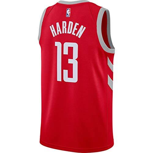 Harden Rockets Swingman - Maglia da uomo, taglia 17/18, Uomo, Rosso, M