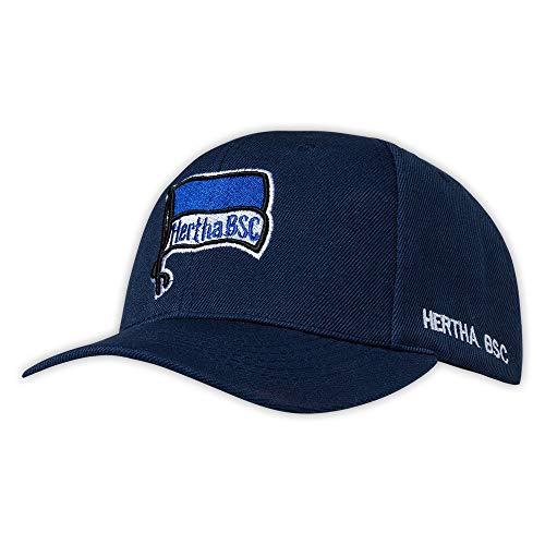 Hertha BSC Kappe Basecap Cap Logo Navy