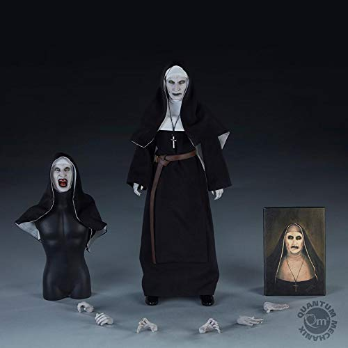 Figura The Nun (La Monja) 30 cm. Expediente Warren. Escala 1:6. Quantum Mechanix