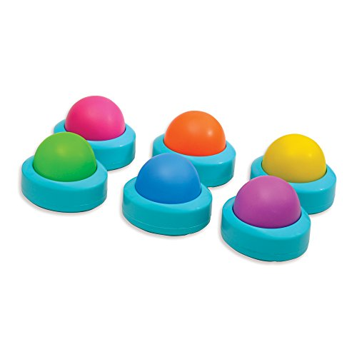 Educational Insights Wireless Eggspert Extra Student Buttons (Set of 6)