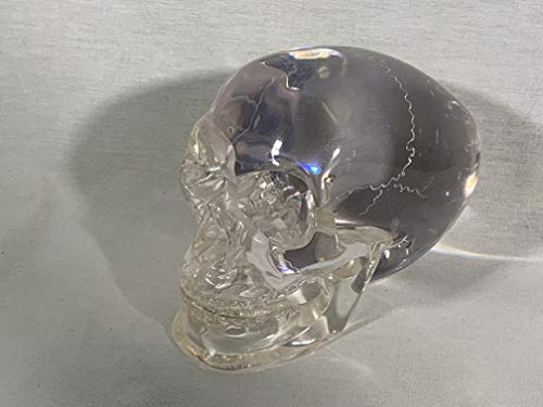 Reel Art Mitchell Hedges Ancient Crystal Skull, Signed, Numbered Edition, Plus Free Book