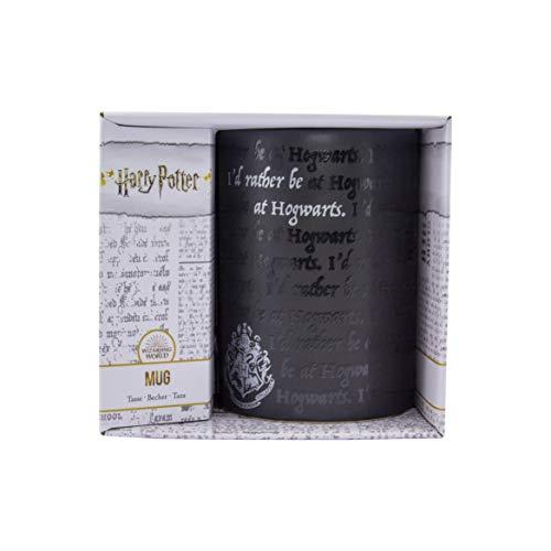 Paladone PP6724HP Tasse Rather Be at Poudlard sous licence officielle Harry Potter 325 ml (11floz), Grès, 325 ml