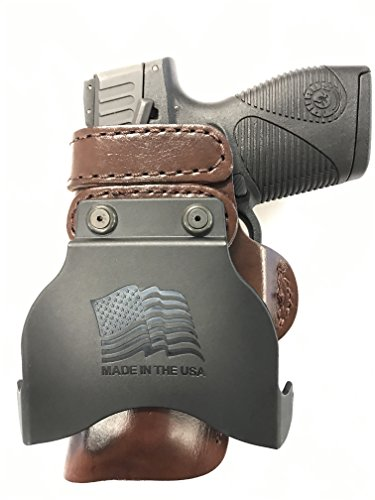 Paddle Holster for CZ 97B RH Right Hand Brown Concealed...