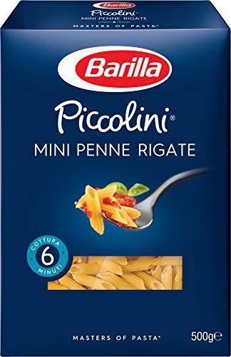 Barilla Pasta Piccolini Mini Penne Rigate, 500g