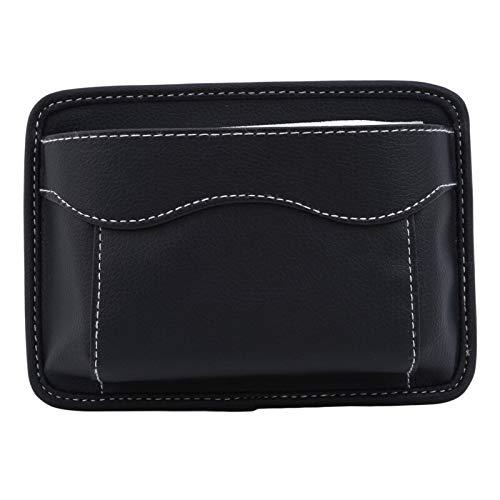 Organizer für Autositze Multifunktionsauto-Beutel-Taschen Car-Aufbewahrungsbehälter Beutel sammelt for Karten-Handy Sticky Bag Innenausstattung Auto Reisetasche (Color Name : Black)
