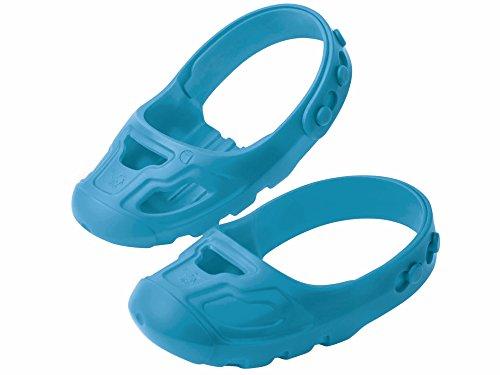BIG-Shoe-Care Schuhschoner, für Kinderschuhe der Größe 21 bis 27, Überschuhe schützen vor Abrieb, Anti-Rutsch-Profil, keine Spuren am Boden, für Kinder ab 1 Jahr, blau