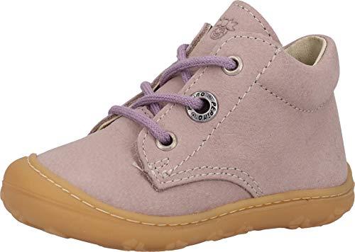 RICOSTA Mädchen Lauflern Schuhe Cory von Pepino, Weite: Mittel (WMS),terracare, junior Kleinkinder Kinder-Schuhe toben,Viola,20 EU / 4 Child UK