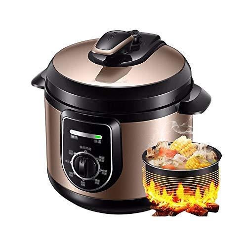 robot cocina 4l litro de Hogares eléctrica olla a presión, pequeña cocina de arroz, Cuerpo de metal de colores, de protección múltiple, antiadherente Olla Interior, Multi Función mando de FUNCIONAMIEN