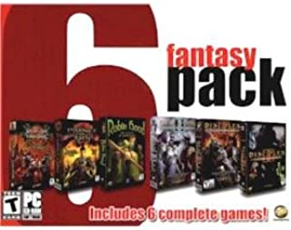 Fantasy 6 Pack (Robin Hood: The Legend of Sherwood / Disciples II: Dark Prophecy / Disciples II: Servants of the Dark / Disciples II: Guardian of the Light / Dragon Throne: Battle of Red Cliff / Prince of Qin)