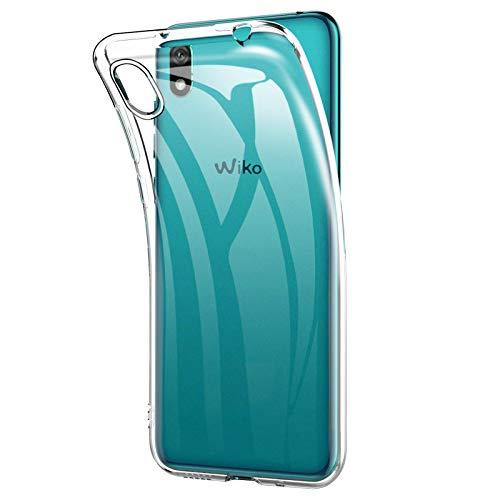 TBOC Custodia Gel TPU Trasparente per Wiko Y70 - Wiko Jerry 4 [5.99 Pollici] Cover in Silicone Ultra Sottile e Flessibile Cellulare