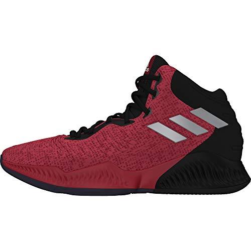 adidas Mad Bounce 2018, Scarpe da Basket Uomo, Nero (Cblack/Silvmt/Scarle Cblack/Silvmt/Scarle), 44 EU