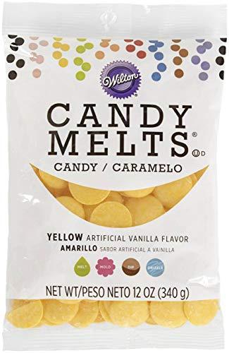 Wilton Yellow Candy Melts Candy, 12 oz.