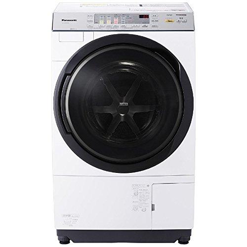 パナソニック 10.0kg ドラム式洗濯乾燥機【左開き】クリスタルホワイトPanasonic 泡洗浄 NA-VX3700L-W