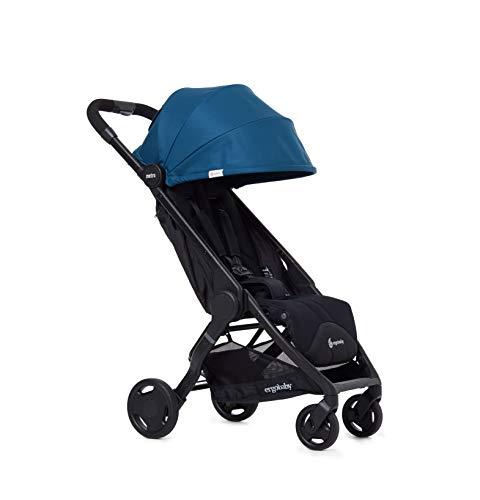 Ergobaby Metro CochecitoBebe Niños Plegable Ligero Modelo 2020, Silla de Paseo Compacta partir de 6Meses hasta 22kg, Azul Marino