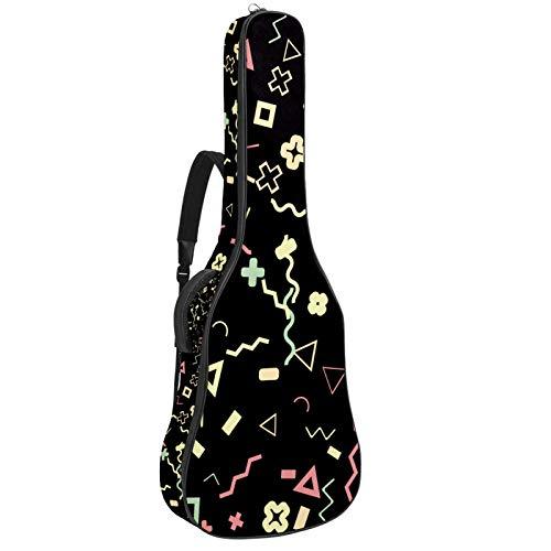 Funda acolchada impermeable para guitarra eléctrica de 41 y 42 pulgadas con...