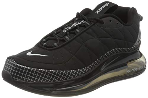 Nike MX-720-818 Men's Shoe, Scarpe da Corsa Uomo, Black/Metallic Silver-Black-Anthracite, 44 EU