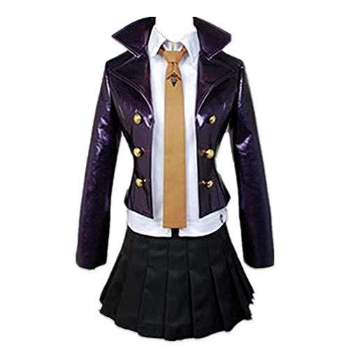 CHANGL Neuheit Cosplay für Partykostüme Danganronpa Kirigiri Kyouko Tägliche Schuluniform Kleid JK Anzüge mit Zubehör