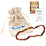 Baltic Wonder Baltic Necklaces (Baroque Cognac) Certified as 100% Authentic Baltic Amber.