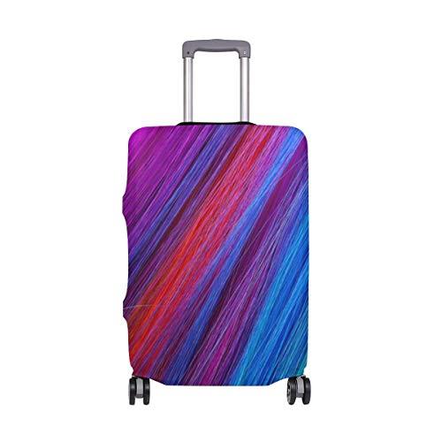 Travel Lage Cover Farbe Haare Koffer Schutz für 26-28 Zoll waschbare Gepäckabdeckungen