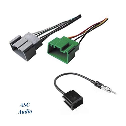 Compatible Vehicles Listed Below Other and Antenna Adapter for Installing an Aftermarket Single Din Radio for some Volvo Wire Harness ASC Audio Car Stereo Dash Install Pocket Kit