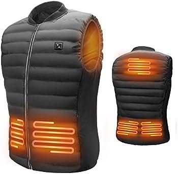 LIFEBEE Men's USB Electric Heated Vest
