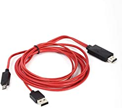 FYL6.6ft MHL USB 1080P HDMI TV Adapter Cable for Samsung Galaxy Note 10.1 2014 ED
