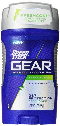 Speed Stick Gear Deodorant, Fresh Force, 3 Ounce