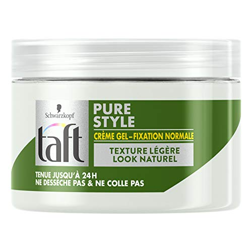 Taft - Crème Gel - Fixation Normale - Pure Style - 150 ml