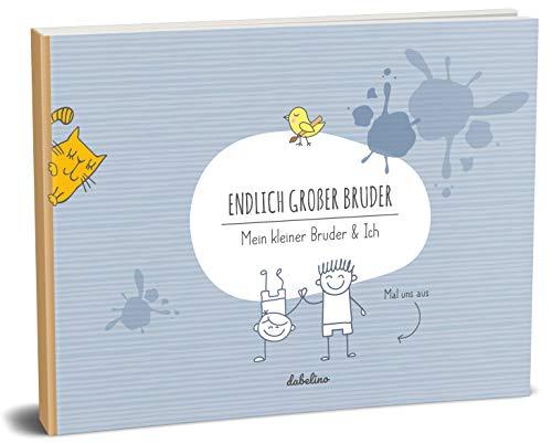 Baby Buch kleiner Bruder + großer Bruder Buch