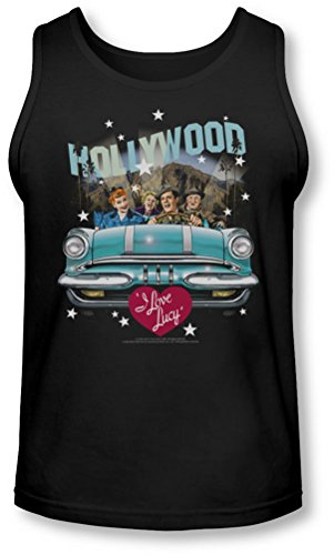 Lucy - Hollywood Road Trip Tank-Top pour hommes, Large, Black