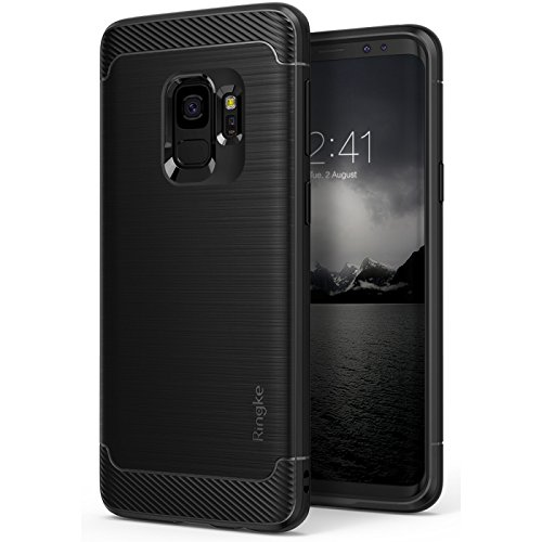 Capa Galaxy S9 Onyx, Ringke, Capa Anti-Impacto, Preto